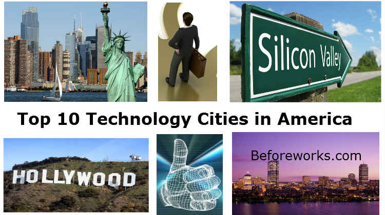 Top 10 Technology Cities in America