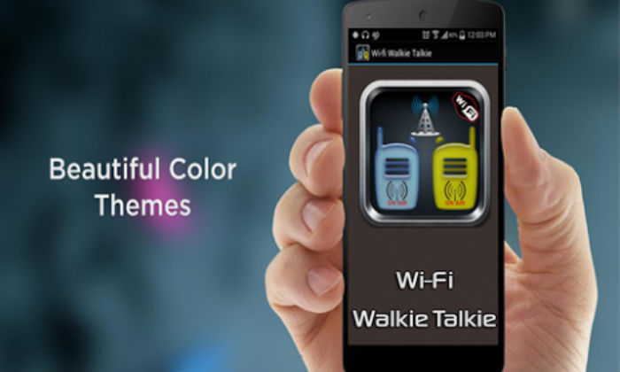 bluetooth-walkie-talkie