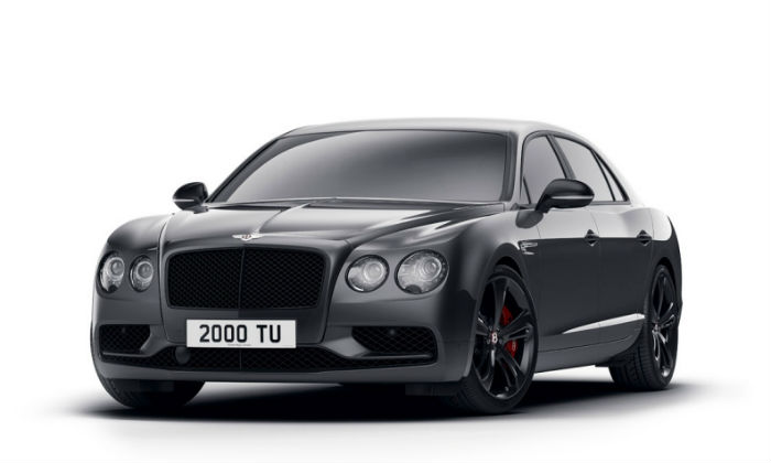 Flying Spur V8S Black Edition