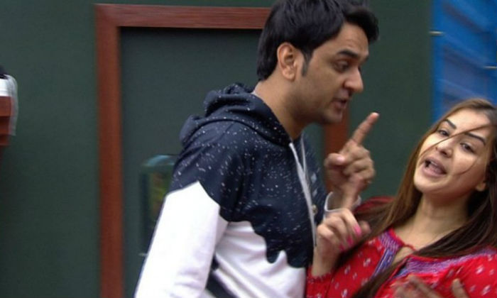 Shilpa shinde and vikas gupta fight