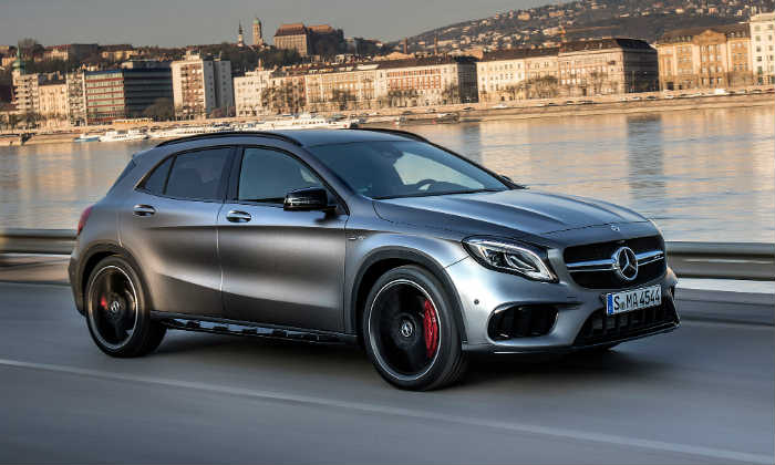 Mercedes Launched Mercedes Amg Gla 45 And Amg Cla 45 Cars In India